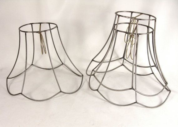 Bell wire frames wire center lamp shade frame oval bell for table or bridge uno light wire made rh pinterest com keyboard keysfo Choice Image