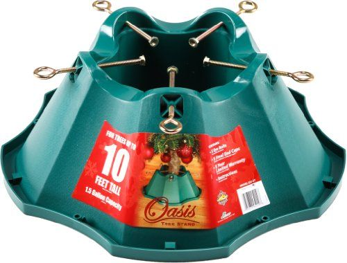 JackPost #OasisChristmasTreeStand, for Trees Up to 10-Feet, 1.5 ...