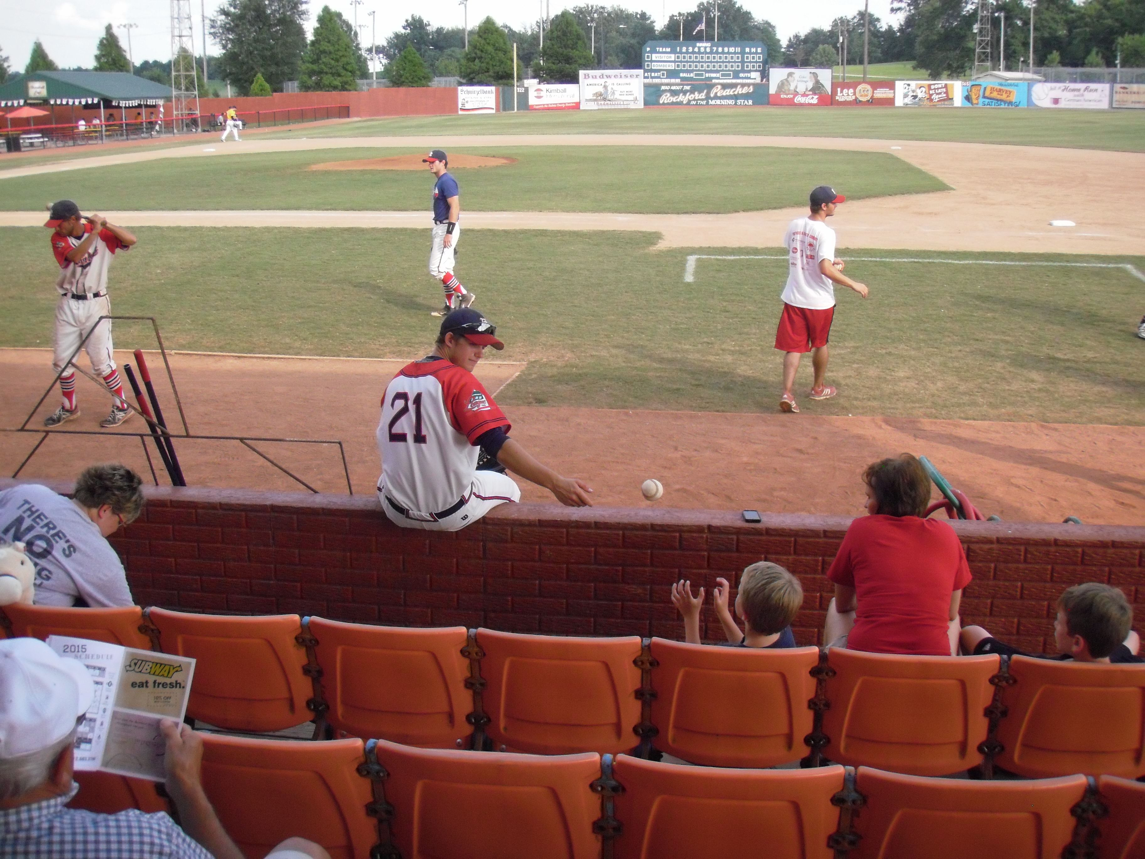 What It S All About Dubois County Bombers Huntingburg In July 17 2015 Small Towns Baseball League Baseball Field