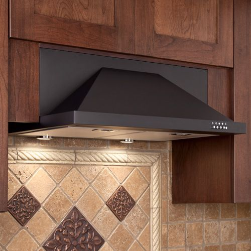 "Artisan Series 30"" Under Cabinet Black Range Hood, I dont' like the typical hoods, but I like this one!"