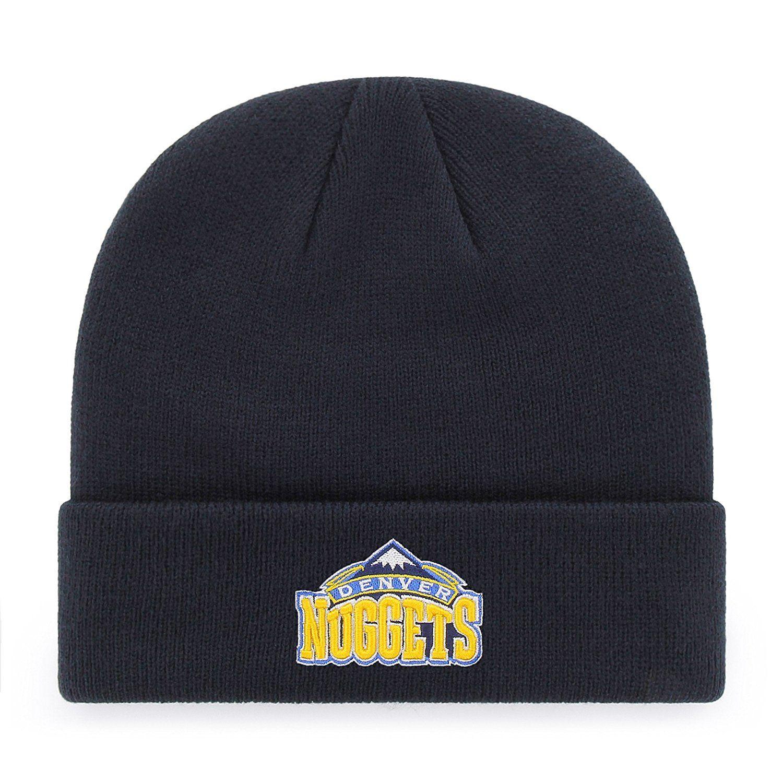 Denver Nuggets NBA OTS Raised Cuff Knit Cap fca1b68925c