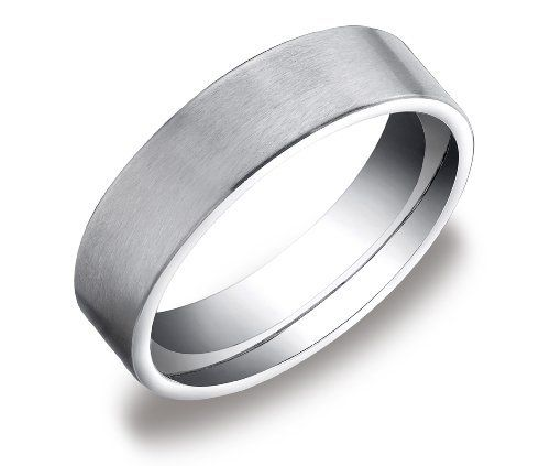 Men S 10k White Gold 6mm Comfort Fit Plain Wedding Band With Soft Satin Finish Amazon With Images Mens Wedding Bands White Gold Plain Wedding Band Comfort Fit Wedding Band