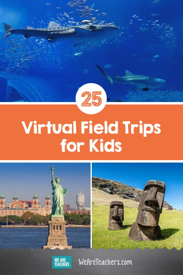 25 Amazing Virtual Field Trips For When You Can't Be There in Person