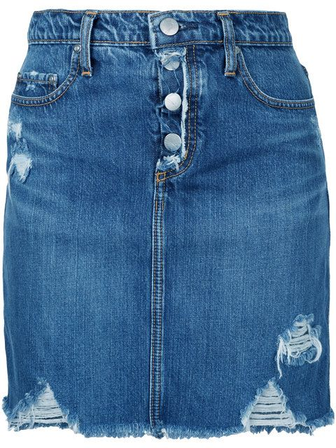 164e325f0 Nobody Denim Piper Skirt Sass - Farfetch | Jean Ideas and art ...
