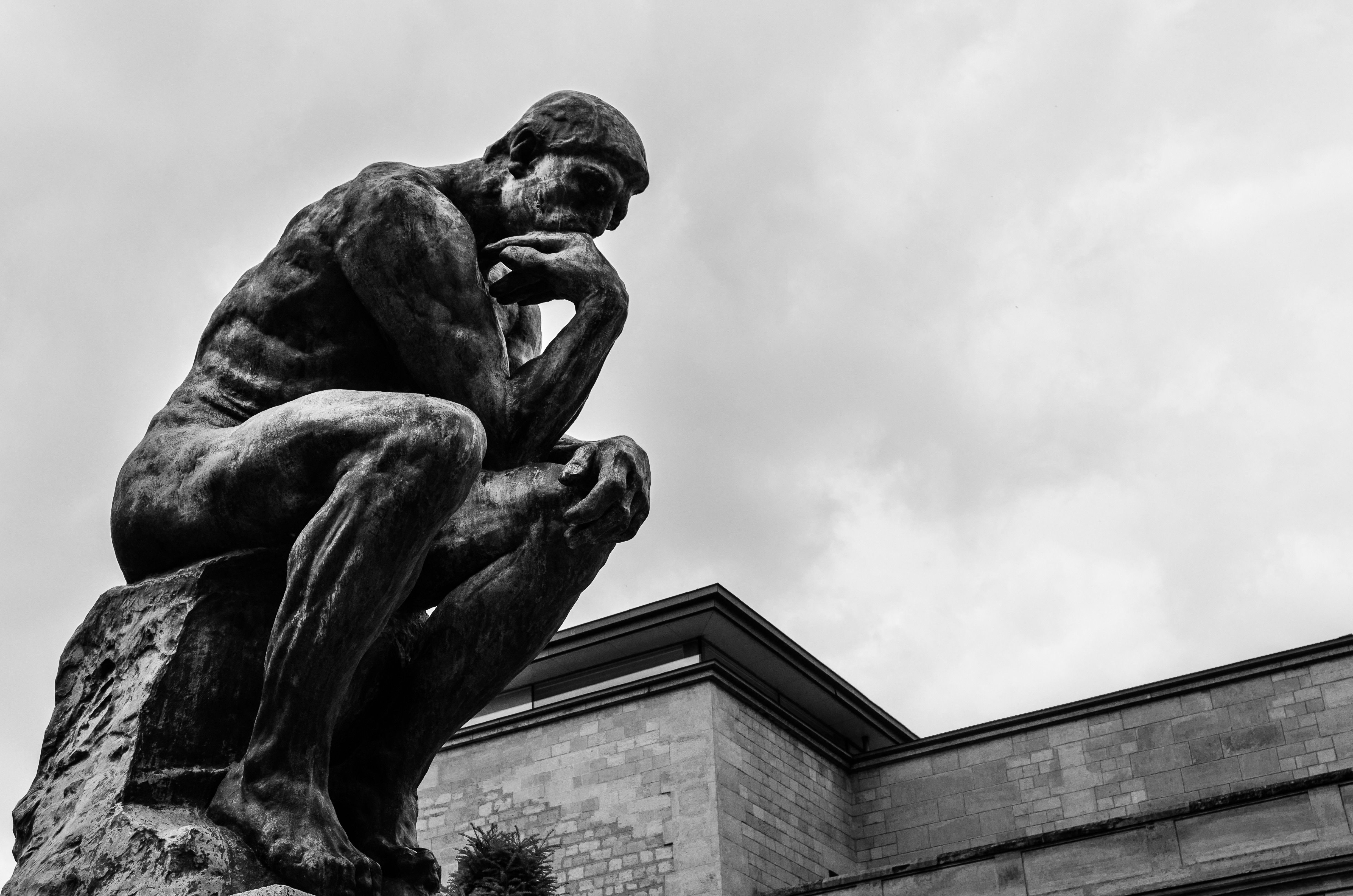 The Thinker Thinking Man 4928 X 3264 Wallpapers