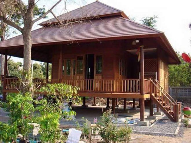Design Rumah Kampung Yang Dimodenkan Blog Sihatimerahjambu