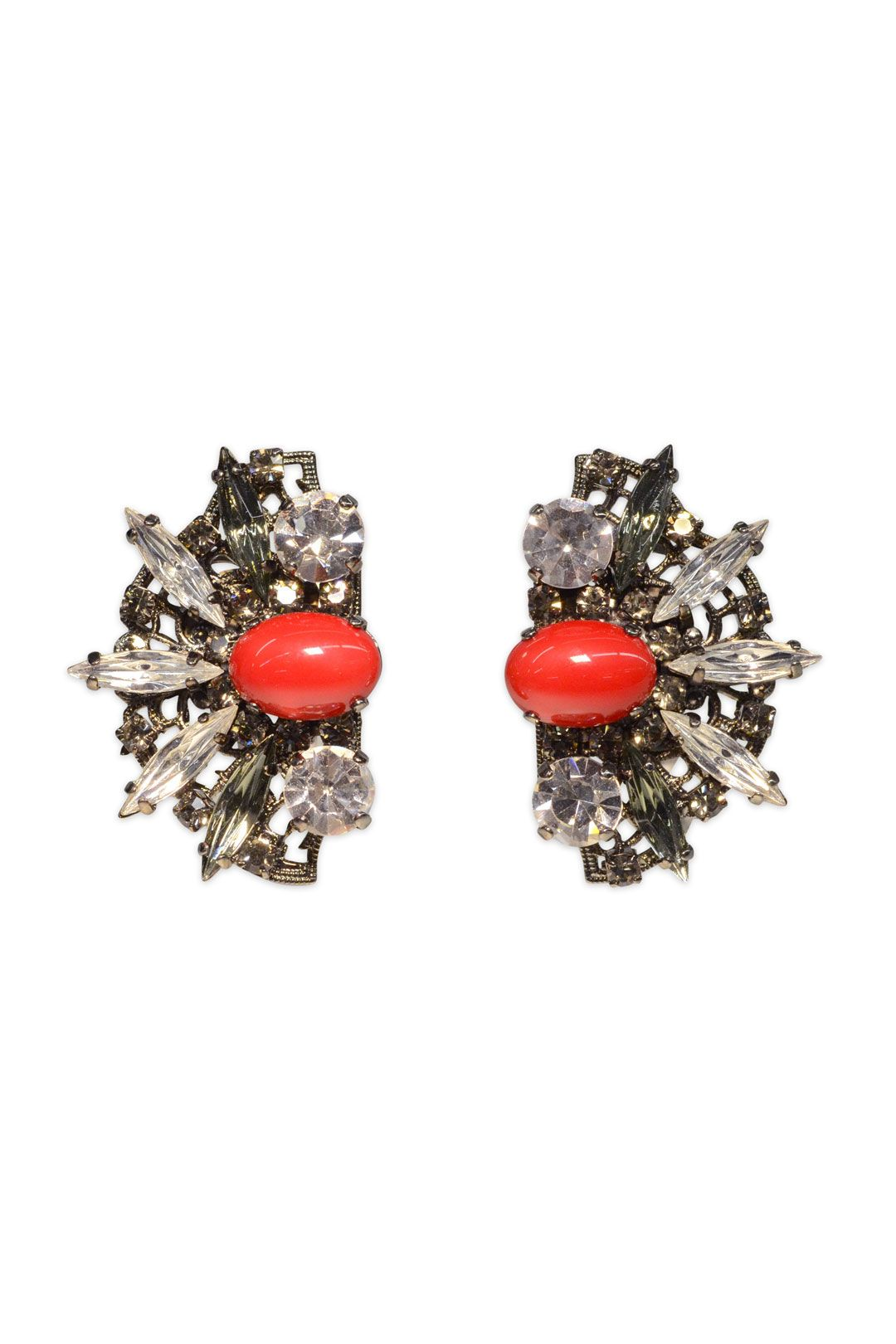 Anton Heunis Red Lotus Earrings..PROM? on renttherunway.com