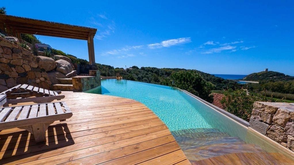 Bord De Mer Villa Avec Plaisant Location Villa En Sardaigne Avec - Location villa en sardaigne avec piscine