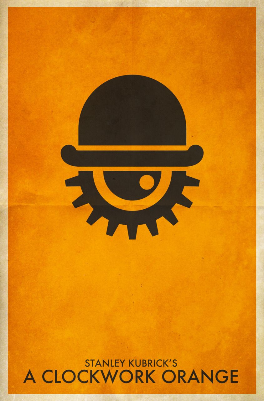 A Clockwork Orange #poster #movie | Posters | Minimal ... A Clockwork Orange Minimalist Poster