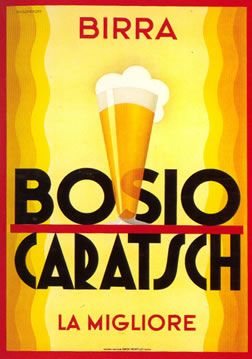 Birra Bosio Caratsch, la migliore - 1936 - (Nicolay Diulgheroff) -