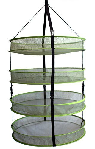Cannabis Drying Rack Delectable Aether Harvestdry 24 4Tier Detachable Advanced Hydroponic Design Inspiration