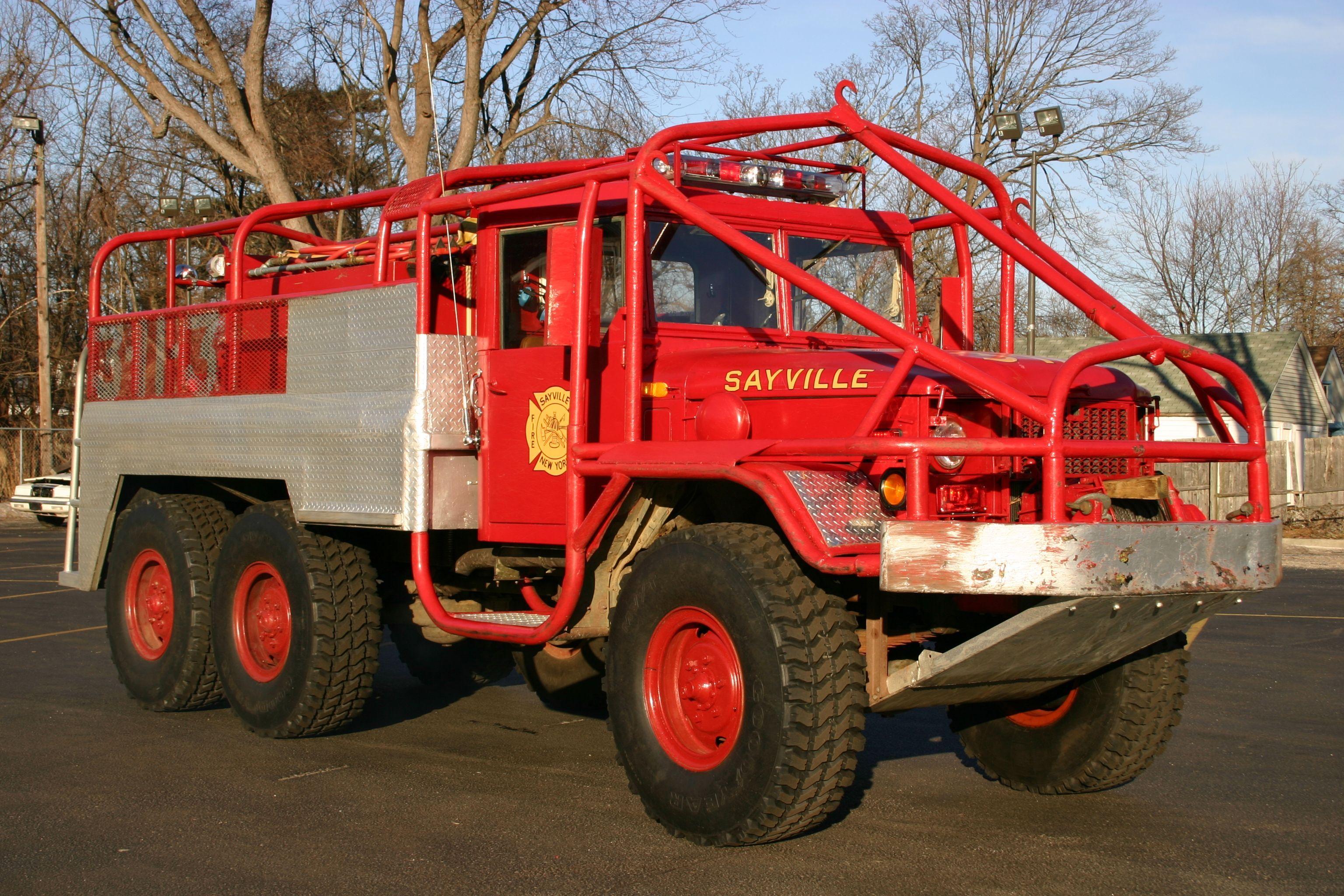 Sayville Fire Department Fire Trucks Trucks Brush Truck