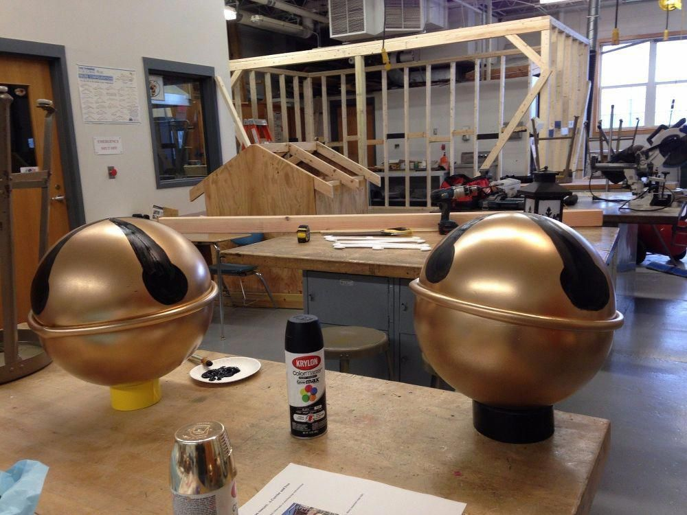 Make Giant Jingle Bells from Hula Hoops and bouncy balls # ...