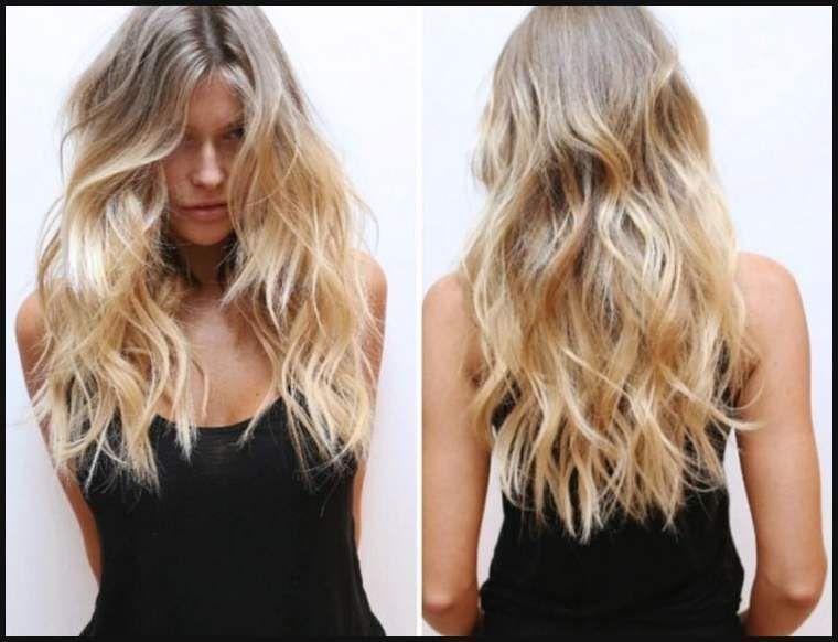 Lange Haare Blond Stylen Schöne Frisuren Neue Trends Und