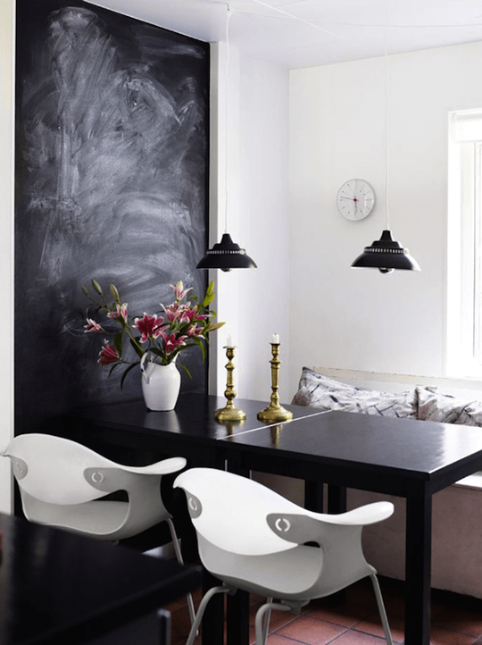 rethinking the chalkboard wall | diy design, paint walls and