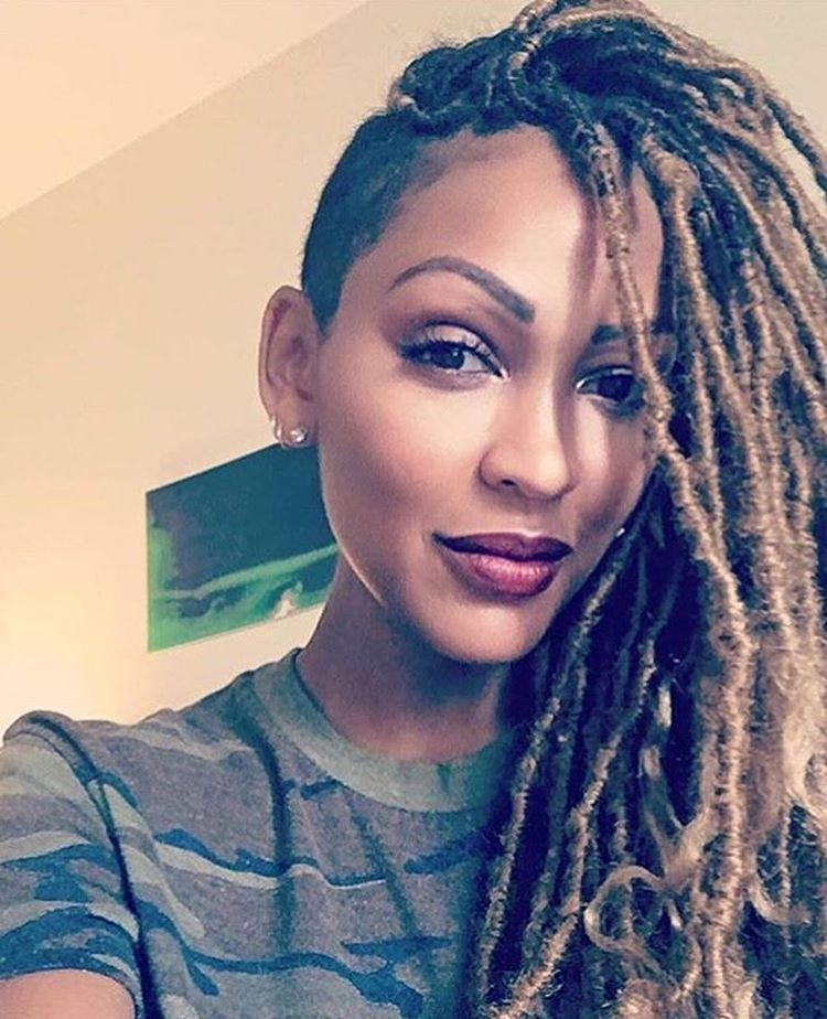 Faux Locs Never Looked So Good Meagangood Hair Is Where Its At