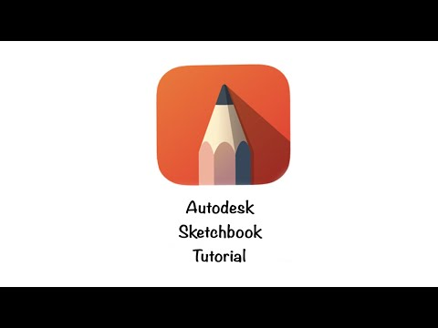 Autodesk Sketchbook app Tutorial (with subtitles
