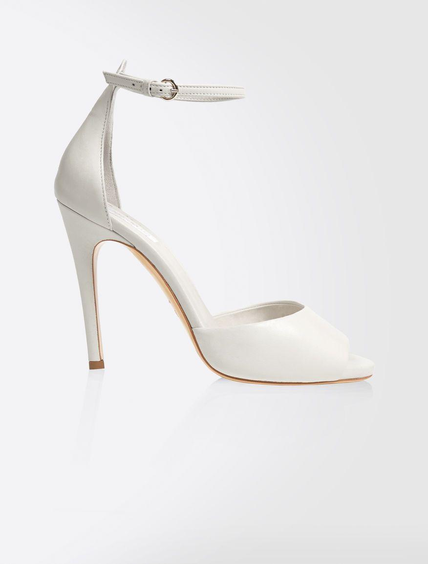 4984bfe1a4a Jimmy Choo CARESS 125 Platinum Ice Dusty Glitter Platform Sandals  Platinum  CARESS Jimmy