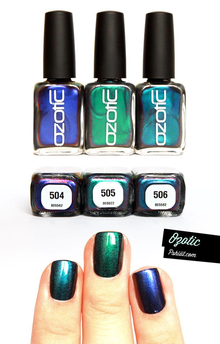 Ozotic Multichromatic // 504 vs 505 vs 506 Comparaison