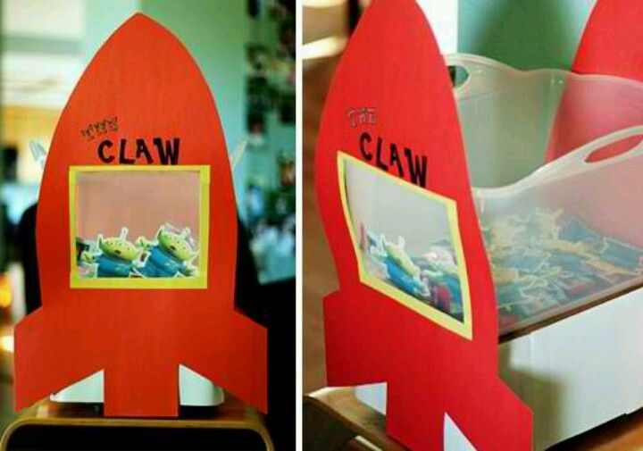Games To Play At Toy Story Birthday Party : Claw machine jalen birthday ideas toy story party