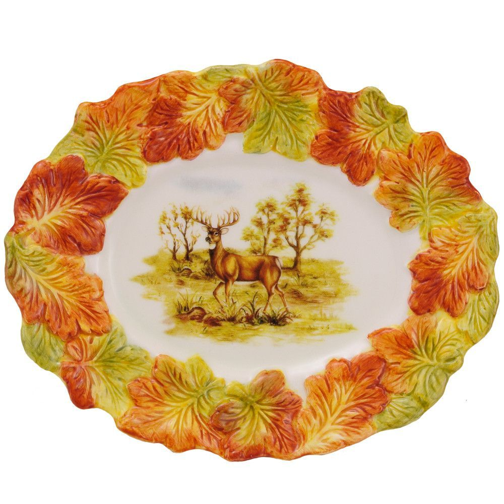 Hunt Harvest Serving Dish | Tabletop and Products