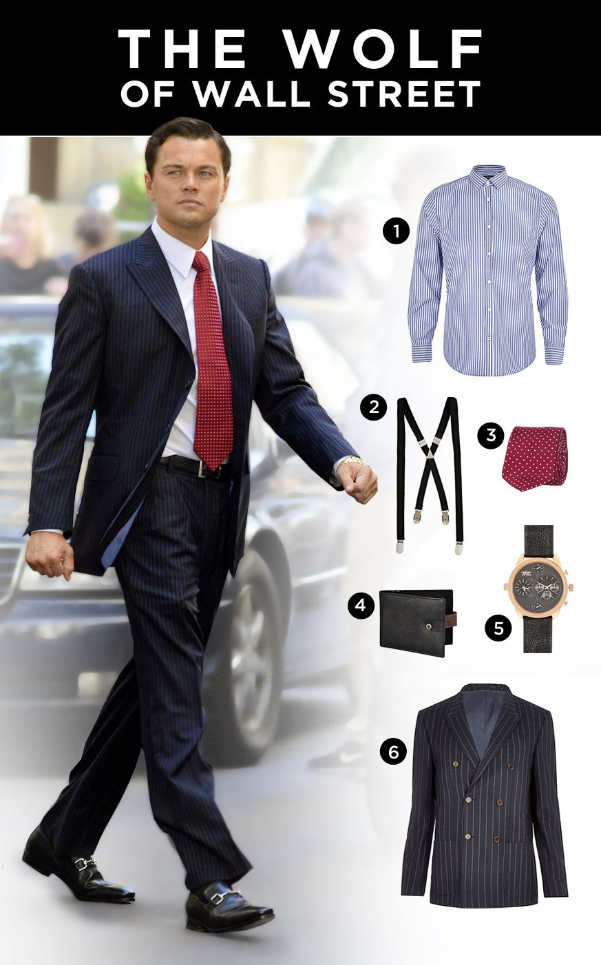 Get The Look The Wolf Of Wall Street Blog Style