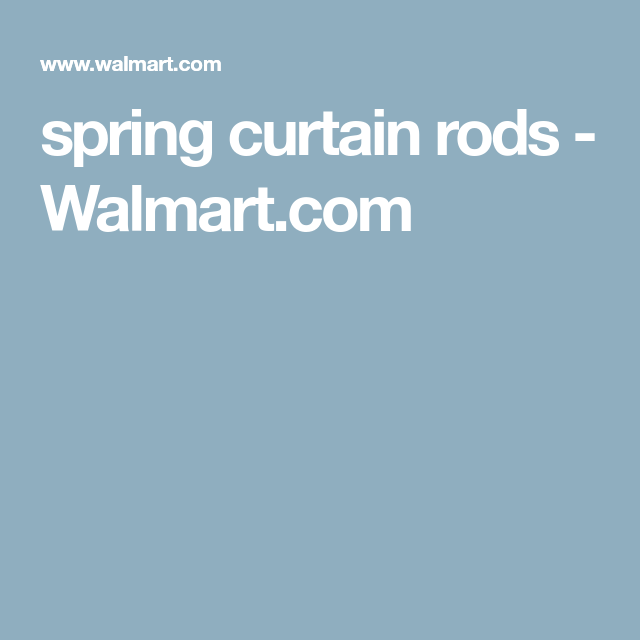 Spring Curtain Rods Walmart Com Spring Curtain Rod Curtain Rods Drawer Organizers