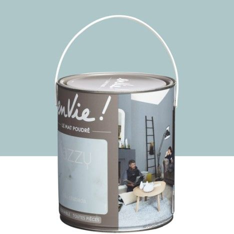Peinture multisupports Envie Collection Jazzy LUXENS, bleu chabada