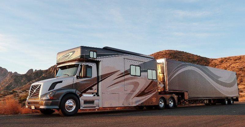 Ultimate Toy Hauler Volvo Trucks Volvo Big Trucks