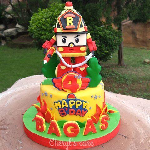 Robocar Poli Doğumgünü Pastası 2019 Birthday Cake Cake Ve