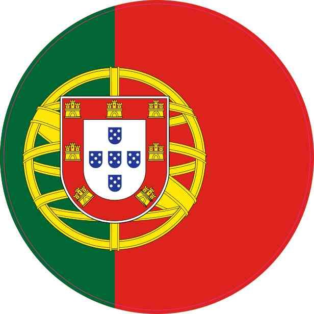 Slikovni rezultat za circle flag portugal