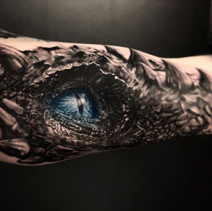 Viserion Ronnyjones Dragon Tattoos For Men Tattoos For Guys Eye Tattoo