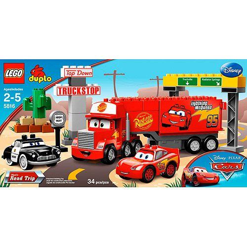 Lego Cars Mack.s Road Trip - 5816 | Lego duplo, Lightning mcqueen ...