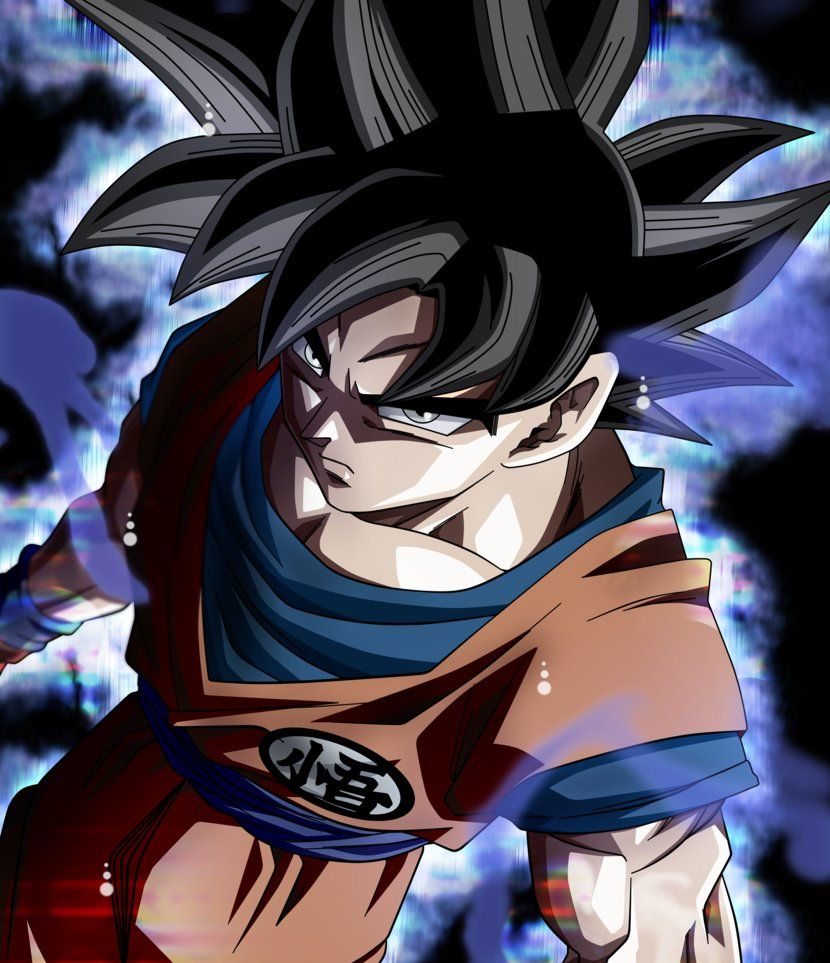 Goku miggate no goku 39 i 3 584 by koku78 dragon ball hd for Fond ecran dbz