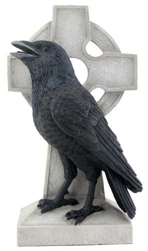 Photo of Raven on Cross