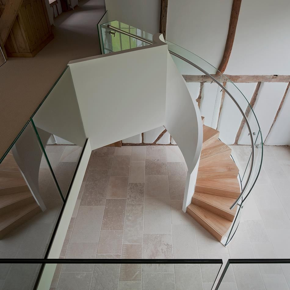 EeStairs helical stair in converted barn