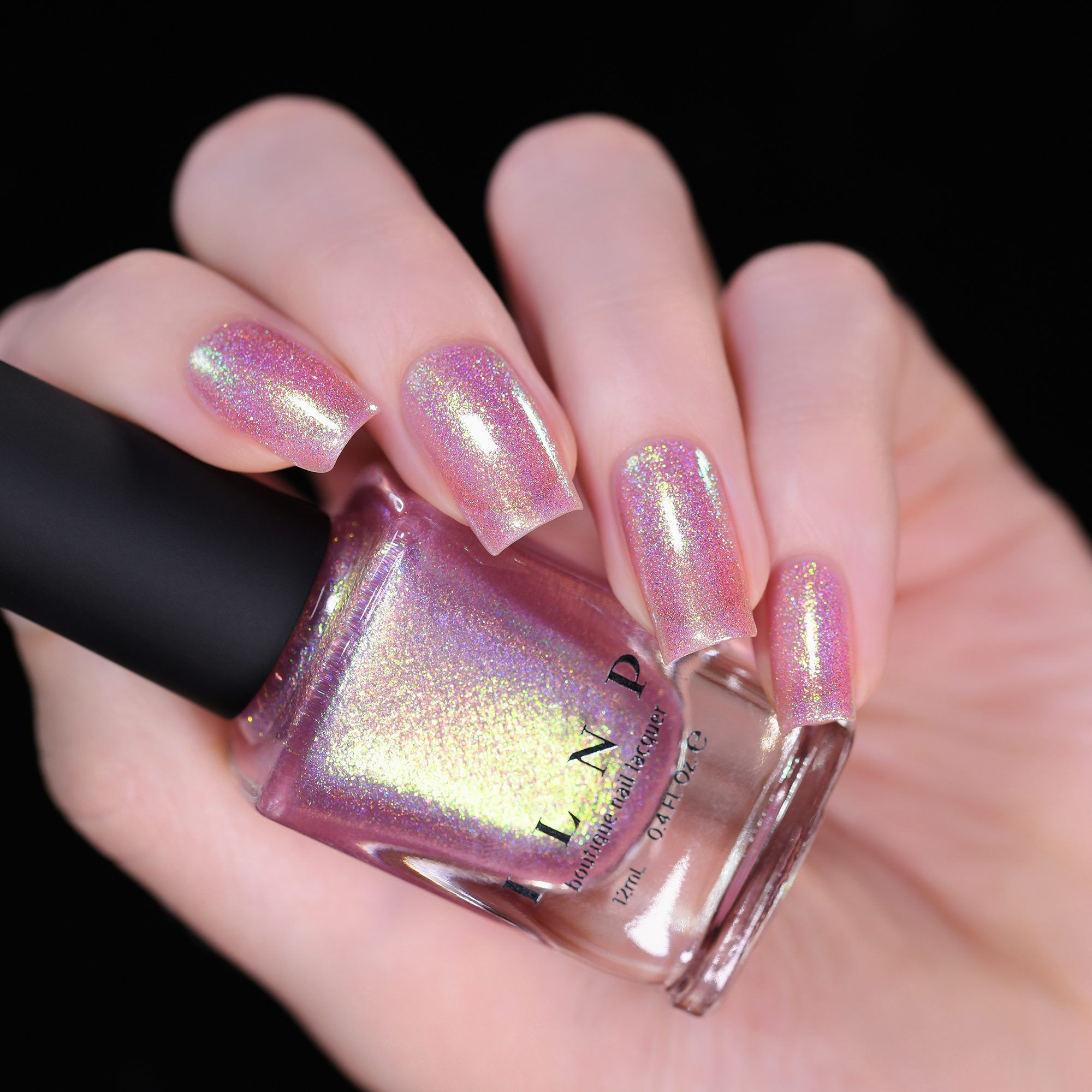 Opal Sunset Opalescent Pink Holographic Jelly Nail Polish By Ilnp Nail Polish Holographic Nail Polish Ilnp Nail Polish