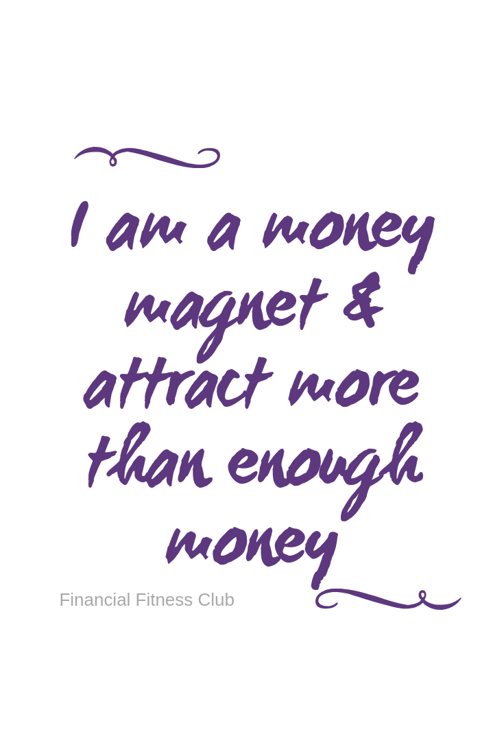 Money Magnet - Wealth Affirmation Coffee Mug | Tea Cup