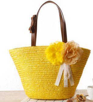 Magic Fish! 2016 beach bag women bags women handbag Bohemian shoulder bag bolsas Knitting travel bags high quality LS8717mf