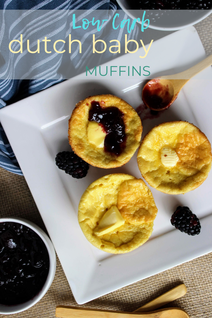 Low Carb Dutch Baby Pancake Muffins - Keen for Keto ...