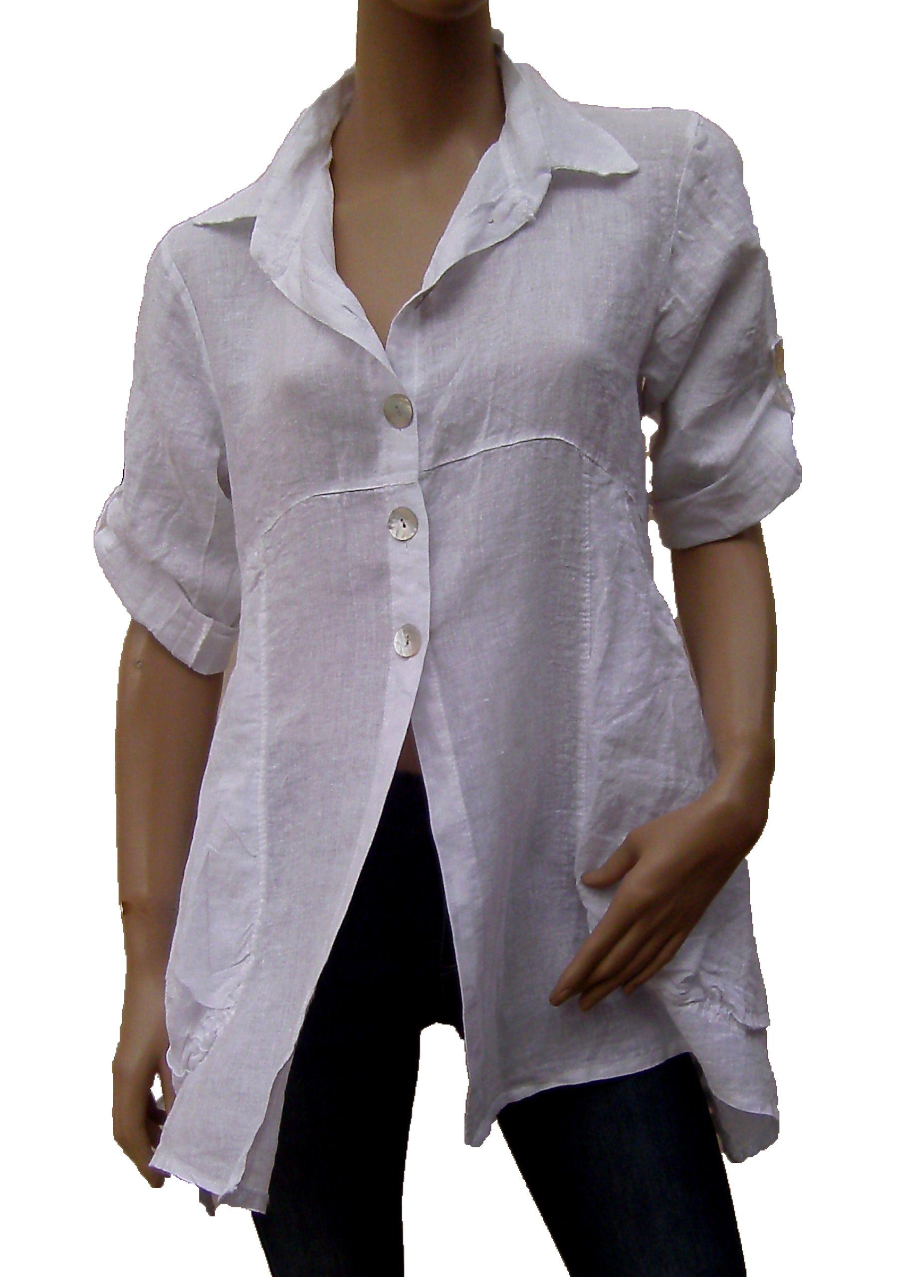 Leinenbluse,Hemd