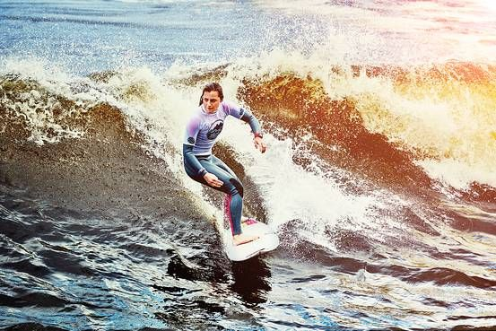 #Surfing jn an #Artificial #Wave #Pools: A Landlocked Surfer's Solution? #WSJ #surf #snowdonia