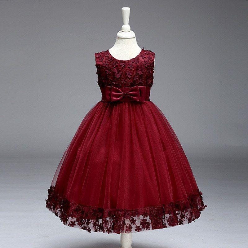 Girls Wedding Party Dress 2-8 Years Age /
