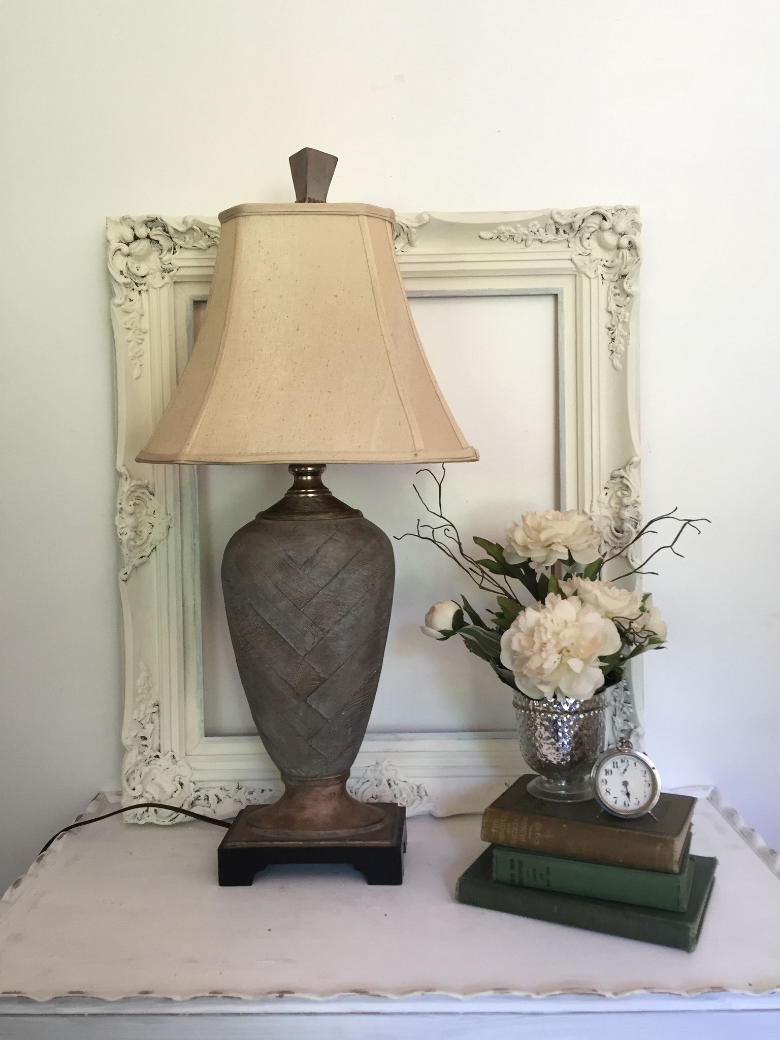 lovely Rustic Table Lamps Living Room Part - 1: Tall Elegant Rustic Table Lamp