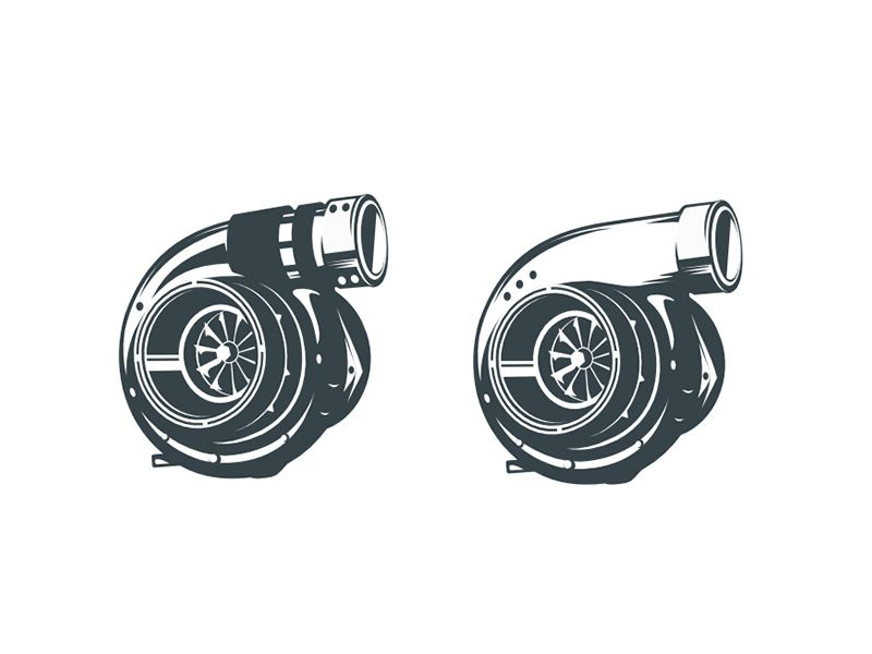 Turbocharger Illustration