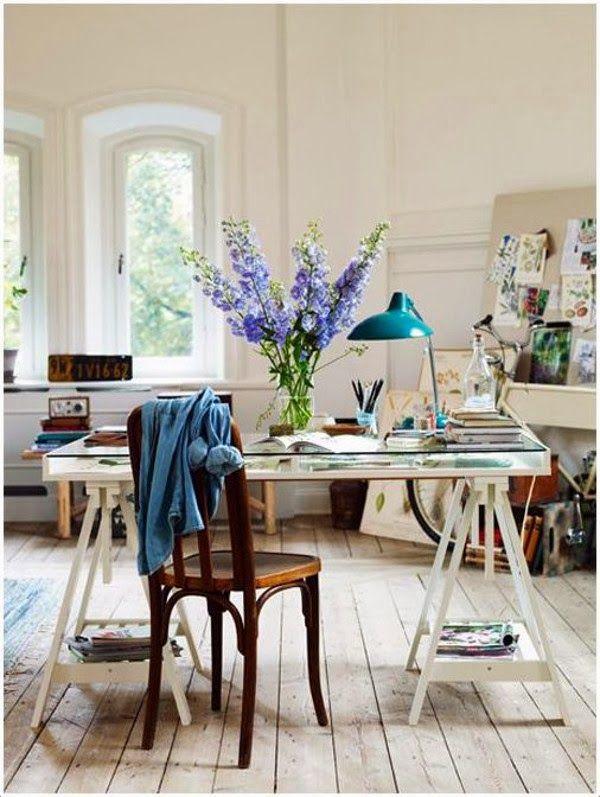 Emérita Desastre 10 espacios de trabajo con Ikea Finnvard 550 - hausliches arbeitszimmer gestalten einrichtungsideen