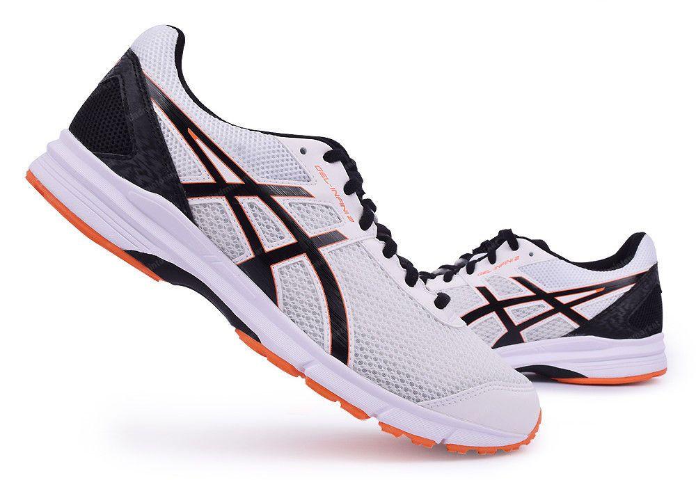 ASICS GEL INFINI 2 Wide Men's Running Shoes White Orange ...