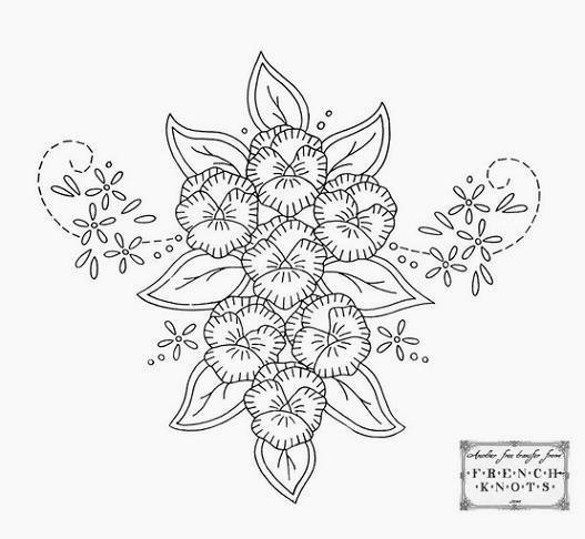 Free Hand Embroidery Designs Patterns Artesanato Craft