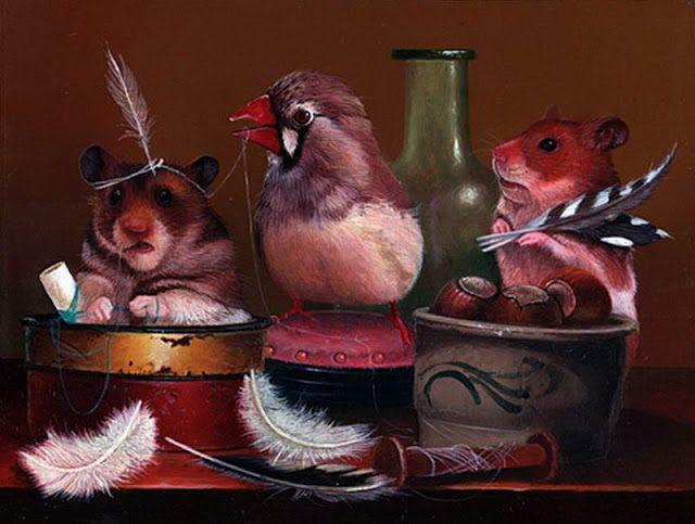 Gabriel Gressie | Картинки, Мышь