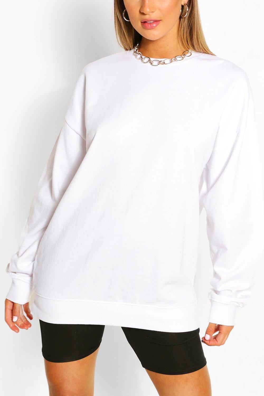 Recycled Oversized Sweatshirt Boohoo Stylish Maternity Outfits Tie Sweater Sweaters [ 1500 x 1000 Pixel ]